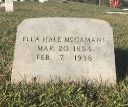Ella Jane <I>Hale</I> McCamant