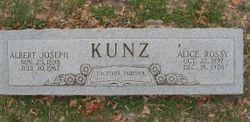 Alice <I>Rossy</I> Kunz