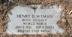 Dr Henry Dibble Wyman