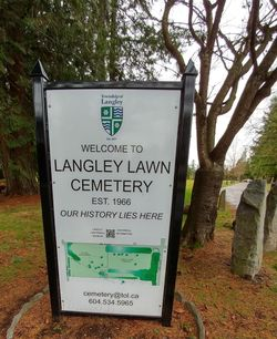 Langley Lawn Cemetery