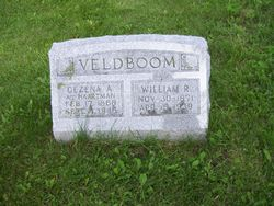 """Gezena A """"Cena"""" <I>Hartman</I> Veldboom"""