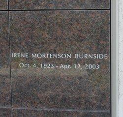 Irene Renay <I>Mortenson</I> Burnside