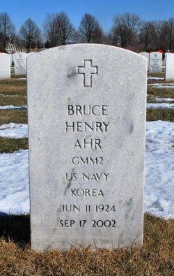 Bruce Henry Ahr