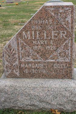 Mary Elizabeth <I>Jones</I> Miller