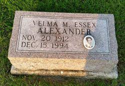 Velma M. <I>Essex</I> Alexander