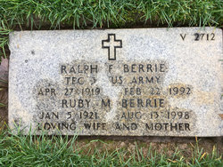 Ralph F Berrie