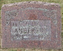 Mathilda E Anderson