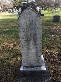 "Julia A ""Julie"" <I>Douglass</I> Felt"