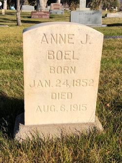 "Anne Johanna ""Hannah"" <I>Jacobson</I> Boel"