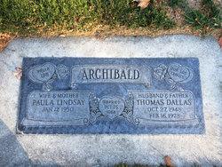 Thomas Dallas Archibald
