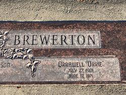 Orrawell Brewerton