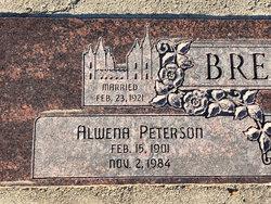 Alwena <I>Peterson</I> Brewerton
