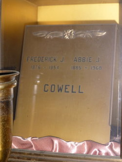 Frederick James Cowell