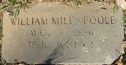 William Miles Poole