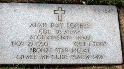 Alvis Ray Forbes