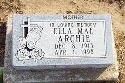 Ella Mae <I>Warren</I> Archie