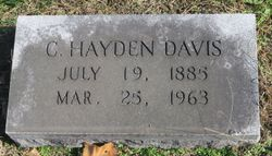 Cecil Hayden Davis