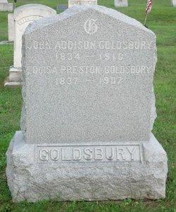 Louisa Mary <I>Preston</I> Goldsbury