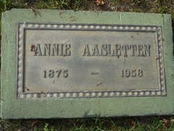 Annie Aasletten