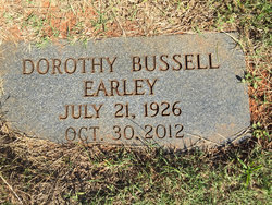 "Dorothy L. ""Dotty"" <I>Bussell</I> Earley"