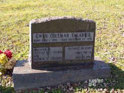 Gwen <I>Coleman</I> Talarigo