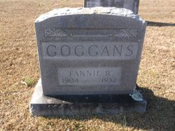 Fannie R Goggans