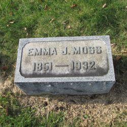 Emma Jane <I>Courtright</I> Moss