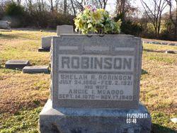 Angie Inez <I>McAdoo</I> Robinson