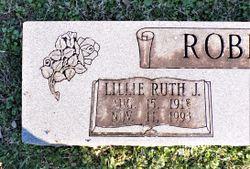 "Lillie Ruth ""Ruth"" <I>James</I> Robinson"