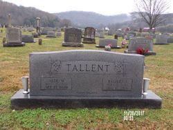 Altie M. <I>George</I> Tallent