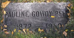 Pauline <I>Gowdy</I> Beltz
