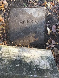 Miles W. McWhorter