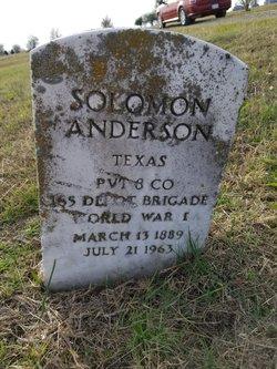 Solomon Anderson