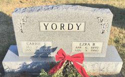 Carrie E. <I>Good</I> Yordy