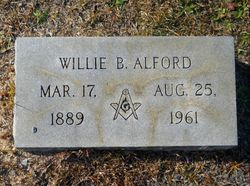 "William Benjamin ""Willie"" Alford"
