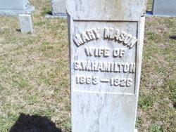 Mary <I>Mason</I> Hamilton