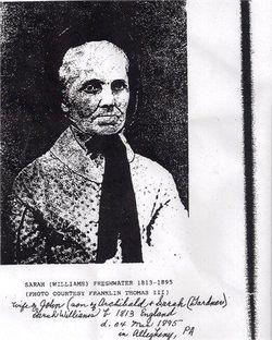 Sarah <I>Williams</I> Freshwater