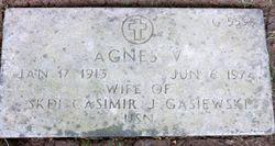 Agnes V Gasiewski