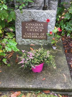 Canadian Memorial United Church Memorial Garden