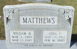 Edna <I>Cole</I> Matthews