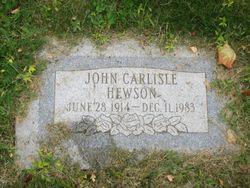 John Carlisle Hewson