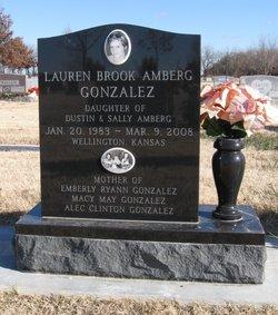 Lauren Brook Amberg-Gonzalez (1983-2008) - Find A Grave Memorial