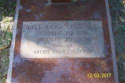"Agnes Idell ""Dell"" <I>Ricks</I> Chestnut"