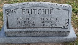 Eunice Esther <I>Howerton</I> Fritchie