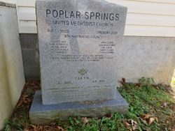 Poplar Springs United Methodist Church Cemetery