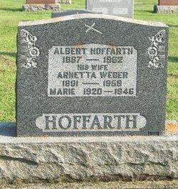 Arnetta <I>Weber</I> Hoffarth