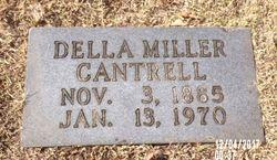 Della <I>Miller</I> Cantrell