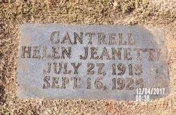 Helen Jeanette Cantrell