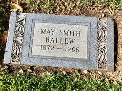 May Elizabeth <I>Smith</I> Ballew