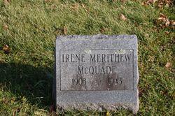 Irene <I>Merithew</I> McQuade